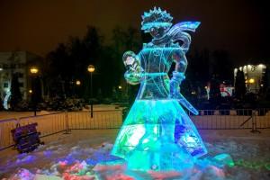 фестиваль-конкурс ледовых скульптур «Сказки планеты Земля»