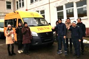 В две сельских школы Большого Подольска поставлены автобусы для перевозки детей