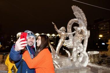 Сквер Поколений стал самым популярным местом для прогулок у подольчан в новогодние каникулы