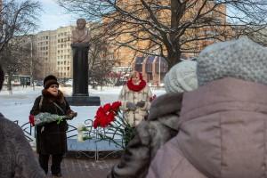 Память Александра Сергеевича Пушкина почтили подольчане 10 февраля
