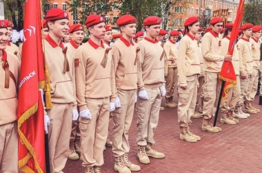 Подольские юнармейцы стали победителями регионального конкурса «Патриоты Подмосковья»