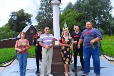 В деревне Сертякино почтили память адмирала А.И. Нагаева