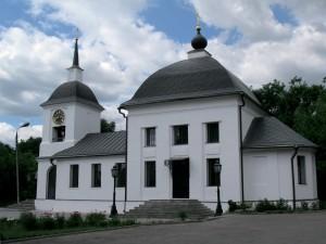 Щаповская церковь после восстановления